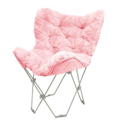 Fur Butterfly Chair