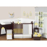 Sweet Jojo Designs Zig Zag Chevron 11-Piece Crib Bedding ...