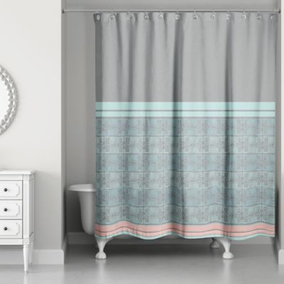 Buy Blue And Grey Shower Curtains From Bed Bath & Beyond