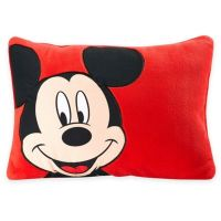 Buy Disney Mickey Toddler Throw Pillow in Red from Bed ...