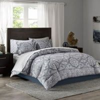 Tanami Comforter Set in Blue/Grey - Bed Bath & Beyond