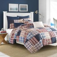 Nautica Blaine Comforter Set in Red - Bed Bath & Beyond