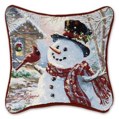 Buy Snowman Throw Pillow Throw Pillows from Bed Bath  Beyond