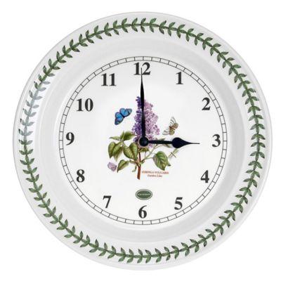 kitchen clocks top cabinets buy bed bath beyond portmeirion botanic garden 10 inch wall clock