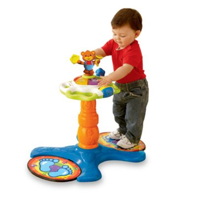 Vtech Sit To Stand Dancing Tower Buybuy Baby