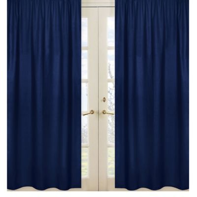 Buy Navy Blue Curtain Panels From Bed Bath & Beyond