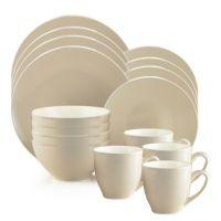 Buy Thomson Pottery Mali 16-Piece Dinnerware Set in Blue ...