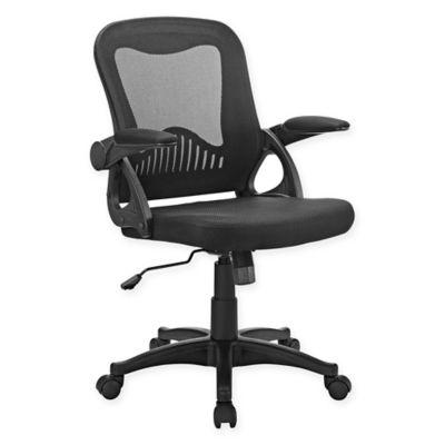 lexmod focus edge desk chair wayfair covers buy black mesh bed bath beyond modway advance office in