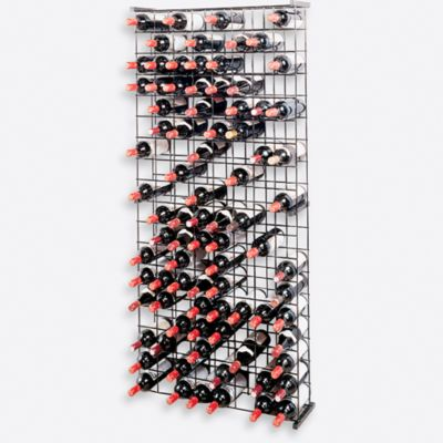 Buy Wine Enthusiast 144 Bottle Metal Grid Wine Rack From