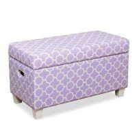 HomePop Juvenile Storage Bench in Purple - Bed Bath & Beyond