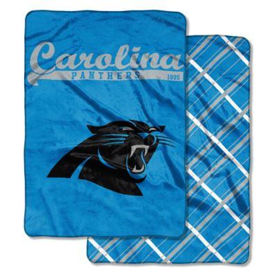 NFL Carolina Panthers Glory Days Cloud Throw Blanket By
