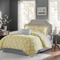 Buy Yellow Grey Comforter from Bed Bath & Beyond