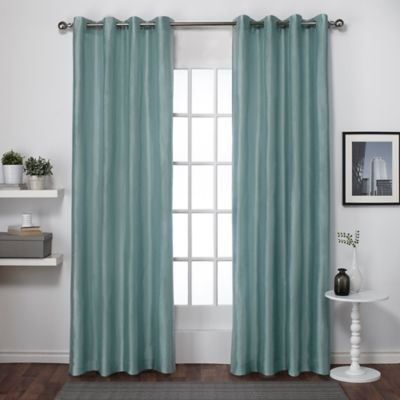 Buy Seafoam Curtain Panels from Bed Bath  Beyond