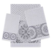 Buy Decorative Grey Towels from Bed Bath & Beyond