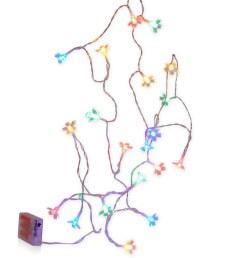 pinterest share product flower led string lights multi color large [ 904 x 1234 Pixel ]