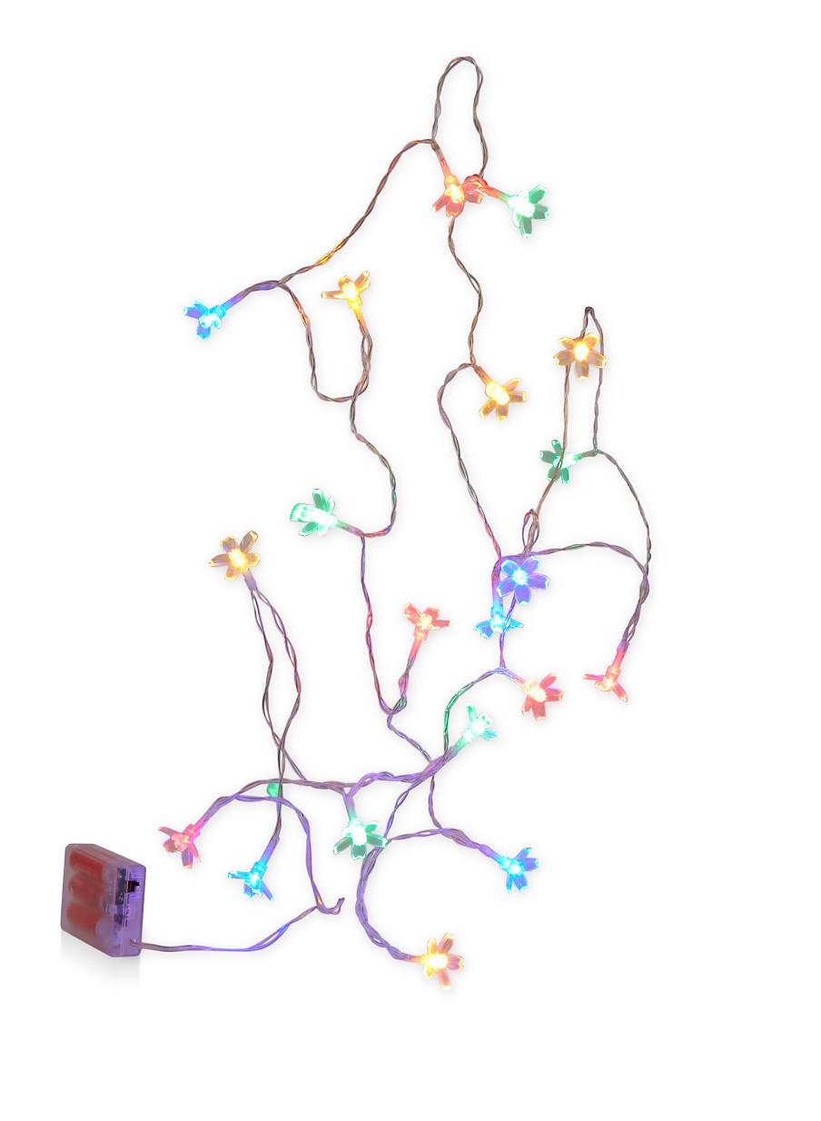 medium resolution of pinterest share product flower led string lights multi color large