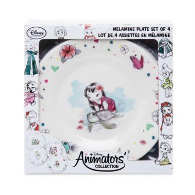 Disney Animators' Collection Plate Set
