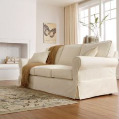 Loose Cotton Chair Covers For Hire Pretoria Twill Slipcovers Sofas Solid Pattern Contemporary Ebay - Thesofa