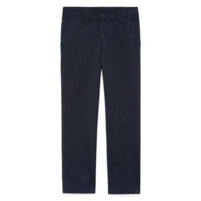 also izod flat front reinforced knee pants boys slim and husky jcpenney rh