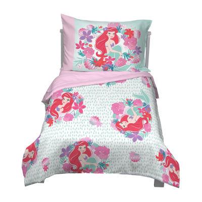 disney little mermaid 4 pc disney princess toddler bedding set