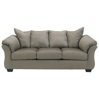 jcpenney sofa reviews furniture delivery uk sofas signature design by ashley madeline fabric pad arm