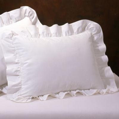 Ruffled Pillow Sham  JCPenney
