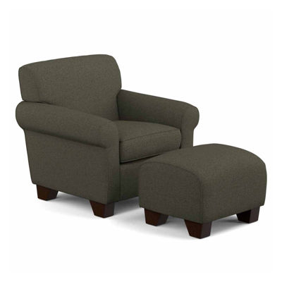 Wendy Chair and Ottoman II  JCPenney