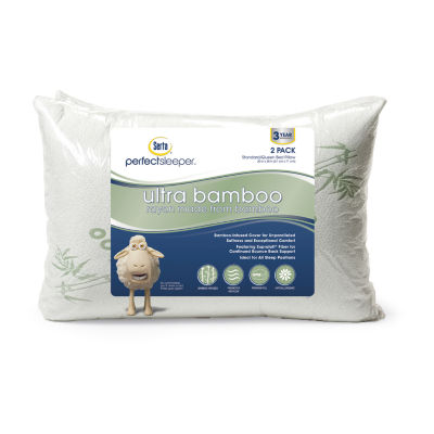 serta ultra rayon from bamboo 2 pack pillow