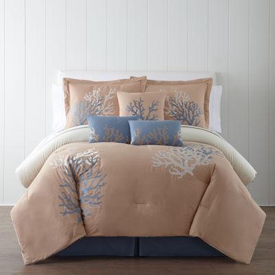 Cheap Panama Jack Coral Sea 7-pc. Comforter Set