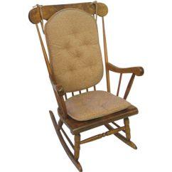 2 Pc Rocking Chair Cushions Swing Ikea Malaysia Klear Vu Raindrops Gripper Rocker Cushion Set Jcpenney