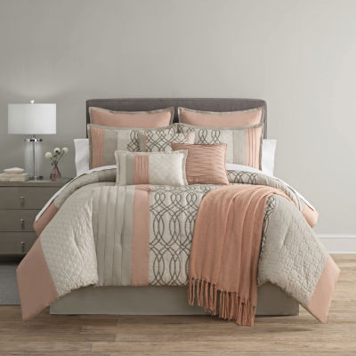 Home Expressions Nina 10pc Comforter Set  JCPenney