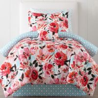 JCPenney Home Jenna Floral Complete Bedding Set with