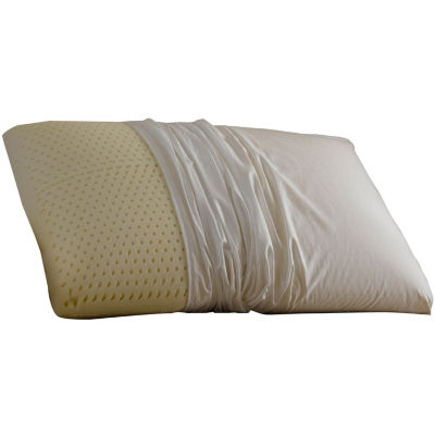 restful nights even form latex foam pillow with cover