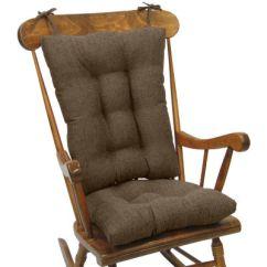 2 Pc Rocking Chair Cushions Gentle Yoga Klear Vu Tyson Gripper Jumbo Cushion Set Jcpenney