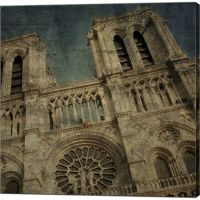 Metaverse Art Notre Dame Gallery Wrapped Canvas Wall Art ...