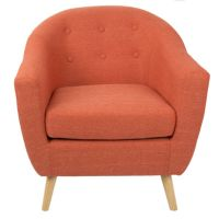 Rockwell Tufted Barrel Chair - JCPenney