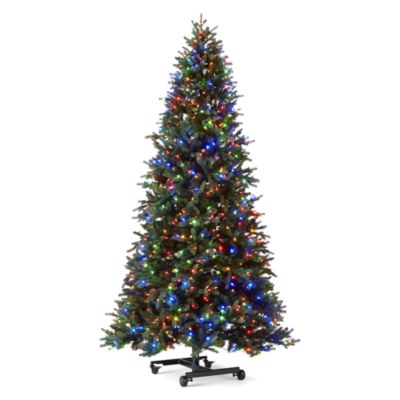 7 Foot Multicolor Pre Lit Fake Christmas Trees At JcPenney