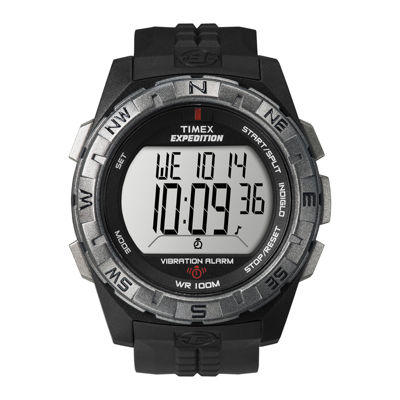 timex expedition mens black