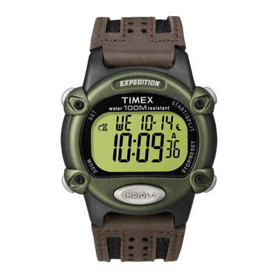 timex expedition mens brown