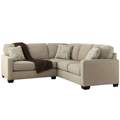 Camden Sofa Signature Design By Ashley Camden Sectional Jcpenney  TheSofa