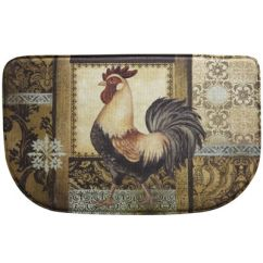 Memory Foam Kitchen Rug Colors To Paint Cabinets Bacova Rooster In The Back Garden Jcpenney