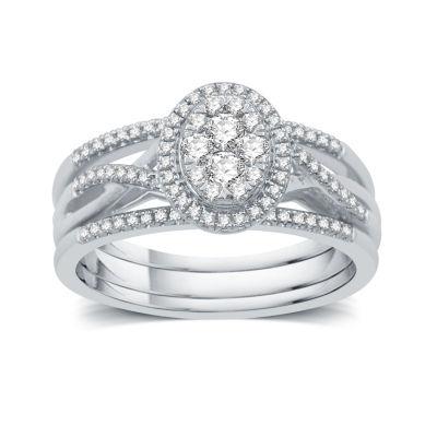 I Said Yes Womens 3/8 CT. T.W. Genuine Round White Diamond