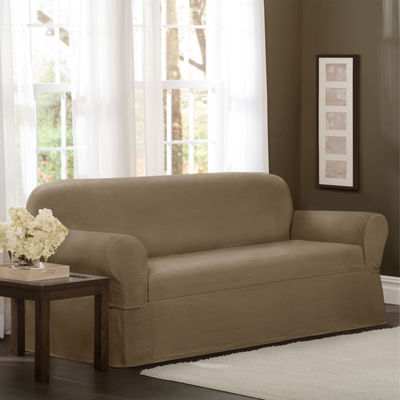 jcpenney sofa sets hemnes table gray brown maytex smart cover stretch torre slipcover
