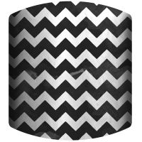 Black and White Chevron Drum Lamp Shade - JCPenney