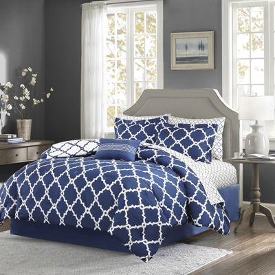 Madison Park Essentials Cole Complete Bedding Set with