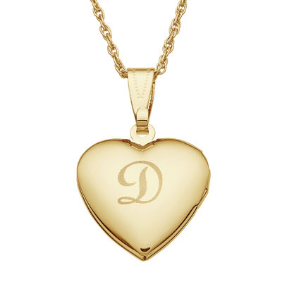 personalized gold tone over