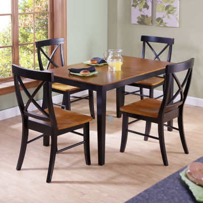 jcpenney dining room chairs posture chair for bad back table with 4 x