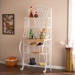 Kitchen Bakers Rack Buy White Cabinets Wooden Door Jcpenney
