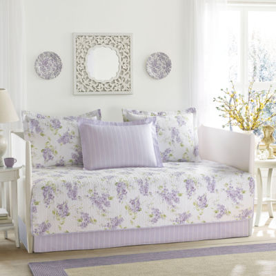 Laura Ashley Keighley Purple Daybed Set JCPenney