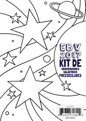 EBV 2017 Kit de observadores galácticos para Preescolares